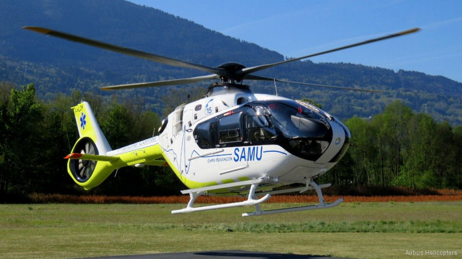 French medical helicopter: SAMU