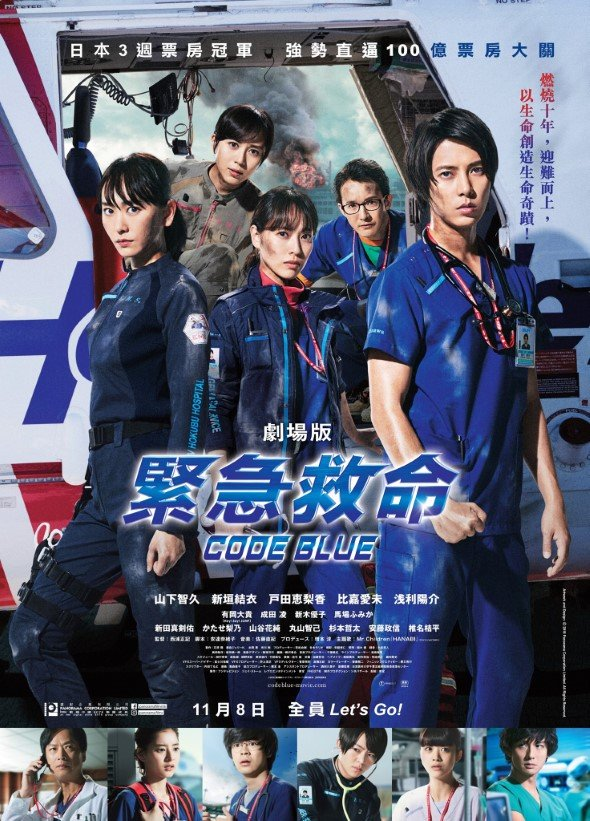 Japanese Emergency Medical Helicopter Movie: Code blue